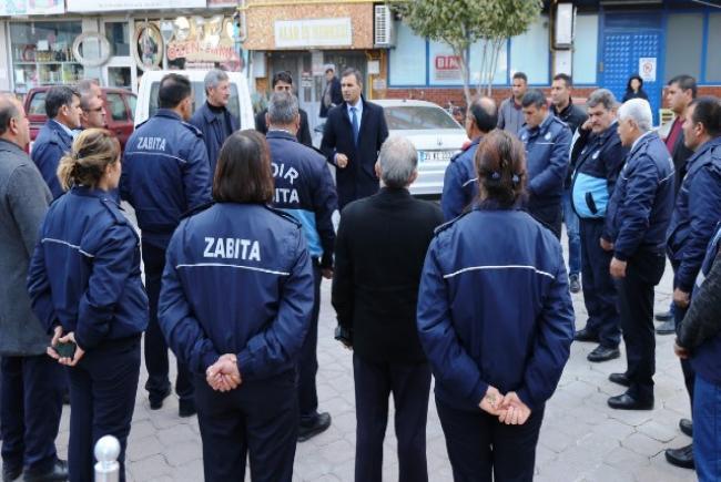 Eş Başkan Yaşar Akkuş'tan Zabıtaya Tam Destek