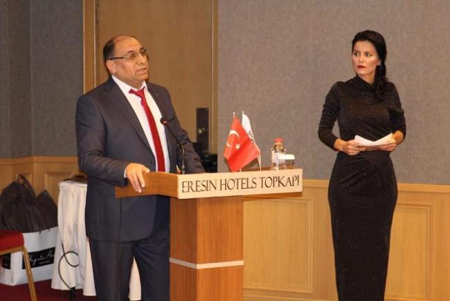 Müz-San İstanbul İl Başkanlığına Hemşerimiz Rahmi Akkuş Getirilidi