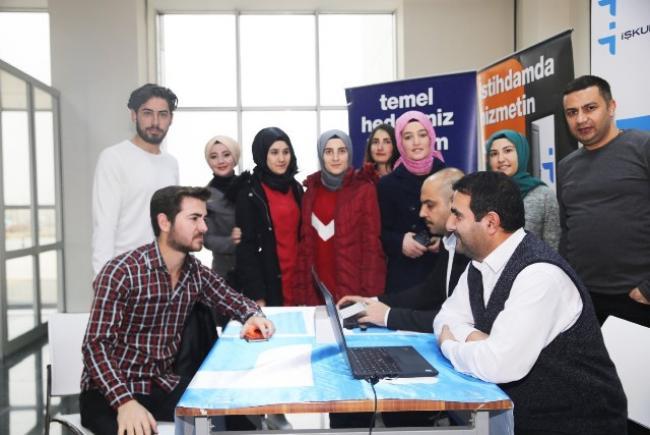 Iğdır Üniversitesinde İŞKUR Standı Açıldı