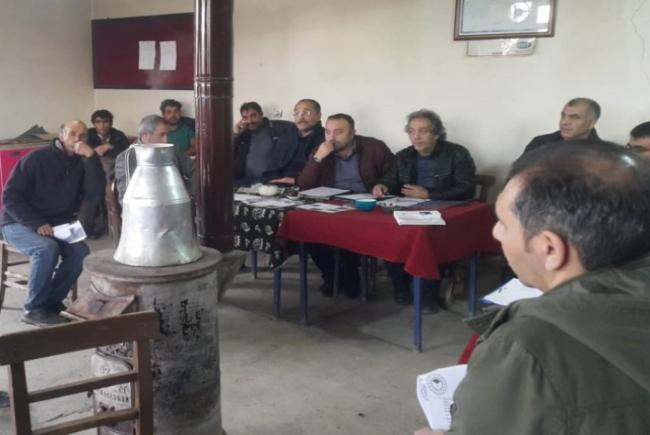 İl Tarımdan Çiftçilere Eğitim ve Bilgilendirme Toplantıları