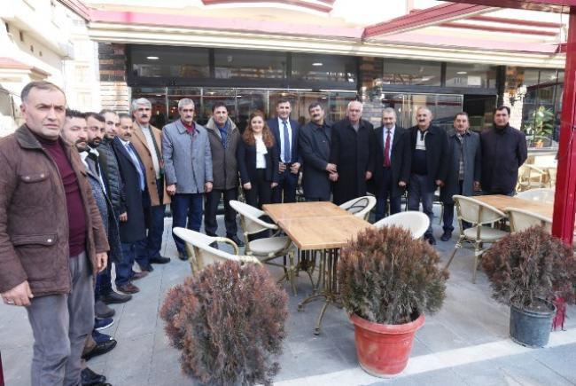 Iğdır Belediye Eş Başkanları Mahalle Muhtarları İle Bir Araya Geldi