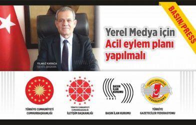 """YEREL MEDYA İÇİN """"ACİL EYLEM PLANI"""" YAPILMALI"""