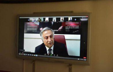 Milli Eğitim Müdürü Gönen'den Dijital Ortamda Velilerle Toplantı