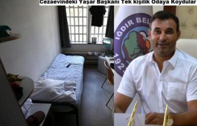 Belediye Başkanı Akkuş: Cezaevinde Bir Kişilik Odada Tutuluyorum