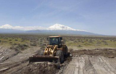 Ağrı Dağı Erozyon Sahasında Bulunan Sel Taşkınlarıyla Mücadele