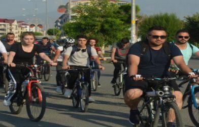 AZERBAYCAN'A DESTEK İÇİN PEDAL ÇEVİRDİLER