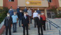 Iğdır Mesleki ve Teknik Anadolu lisesinde Dezenfektan Makinesi Üretimi