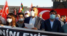 Iğdır Milli İrade Platformu ve Memur-Sen Ermenistan'ı kınadı.