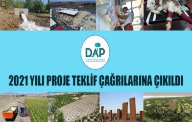 DAP Bölge Kalkınma İdaresi Başkanlığı 2021 Yılı Proje Teklif Çağrısı