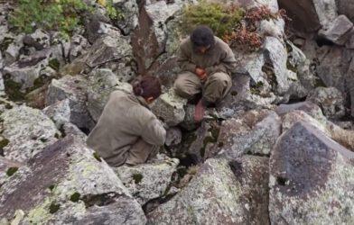 2 kadın terörist sağ olarak ele geçirildi! Güvenlik güçleri böyle ikna etti
