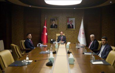 Gençlik ve Spor Bakanı Mehmet Muharrem Kasapoğlu'na Ziyaret