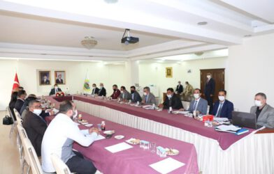 Iğdır Çevre Hizmetleri Birliğinin 2020 yılı Olağan Meclis Toplantısı
