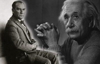 Albert Einstein'dan Atatürk'e