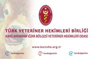 Kars, Ardahan, Iğdır Bölgesi Veteriner Hekimleri Odası'ndan Açıklama
