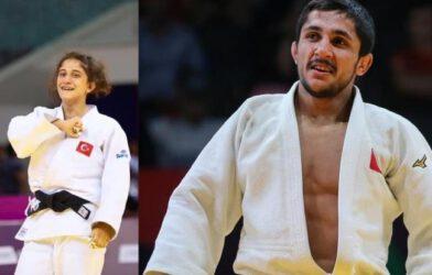 Iğdırlı Judocular Özlem Yıldız İle Salih Yıldız Avrupa 3.sü oldular