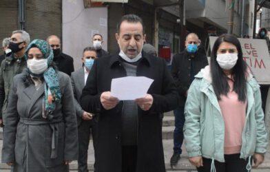 DTK Eşbaşkanı Leyla Güven'e Verilen Cezaya Iğdır'dan Tepki