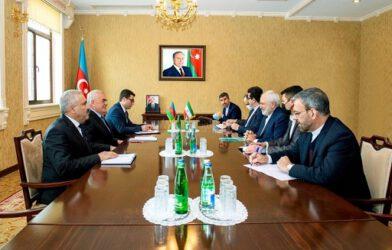 İran İslam Cumhuriyeti Dışişleri Bakanı Muhammed Caved, Nahçıvan Özerk Cumhuriyeti'ni ziyaret etti