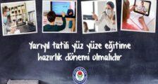 Eğitim-Bir-Sen: Yarıyıl Tatili Yüz Yüze Eğitime Hazırlık Dönemi olmalı