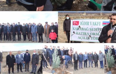 Azerbaycanlı 2783 Şehit İçin Hatıra Ormanı