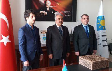Azerbaycan ISBAM Genel Başkanı Samir Adıgüzelli İYİ PARTİ'yi Ziyaret Etti