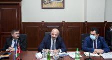 VALİ BAKÜ'DEKİ TOPLANTIYA KATILDI