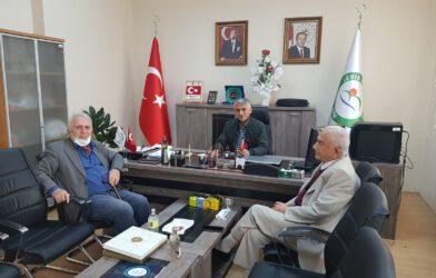 ÜNİVERSİTE ÖĞRETİM ÜYESİ DR.MUSTAFA ÖCAL'I ZİYARET