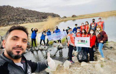 Iğdır Gençlik Merkezi gönüllü gençleri temiz, sağlıklı bir dünya için TEMA