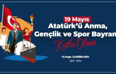 VALİ'NİN 19 MAYIS MESAJI