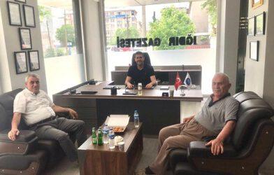"""TUNCAY GÜNEŞ """"IĞDIR GAZETE MATBAASINA HAYIRLI OLSUN"""