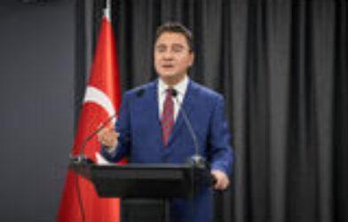 ALİ BABACAN:  'Ülkemizi suç örgütleri arasında bölüştürenlerin hevesini…