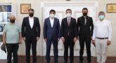 Kars, Ardahan, Iğdır Bölgesi Veteriner Hekimleri Odası olarak Iğdır Üniversitesi Rektörü