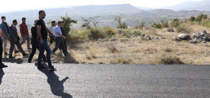Köy Yollarında İyileştirme Çalışmaları