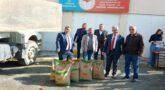 Afetzede 388 Çiftçiye 46 Ton Buğday Tohumu Dağıtıldı